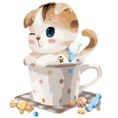 Котенок в чашке №2 (PC3030002)