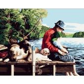 С отцом на рыбалке (PC4050029)