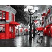 Улица в красных красках (PC4050109)