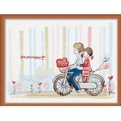 Прогулка на велосипеде (ME030)