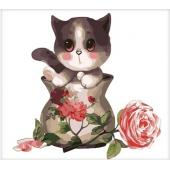 Котенок в вазе (MB057)