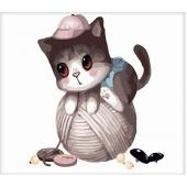 Котенок на клубке (MB060)
