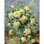 Букет белых роз (MG612)