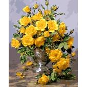 Букет желтых роз (MG613)