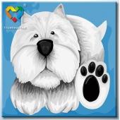Лапы и носы. Белый. (HB2020030)