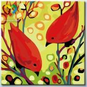 Красные птички (HB2020083)