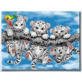Тигрята на ветке (HB3040162)
