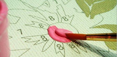 инструкция как рисовать картину по номерам - фото 2
